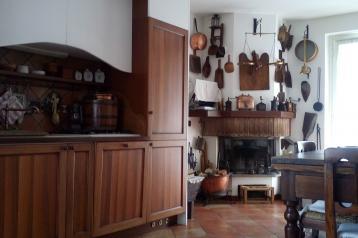cucina appartamento Chiesa in valmalenco
