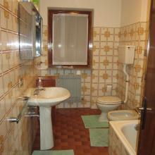 bagno appartamento in locazione Chiesa in Valmalenco via rusca