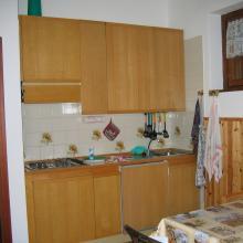 cucina  appartamento chiesa in valmalenco locazione