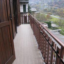 balcone appartamento Chiesa in Valmalenco in locazione via rusca