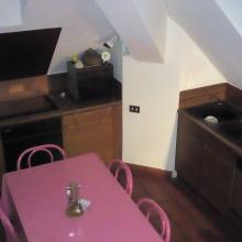 cucina appartamento chiesa in valmalenco Grand Hotel Malenco