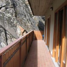 balcone appartamento chiesa in valmalenco
